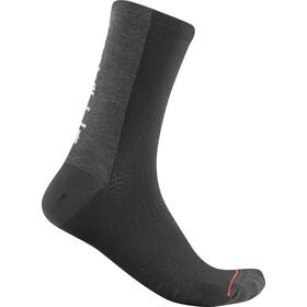 Castelli Bandito Wool 18 Chaussettes, black